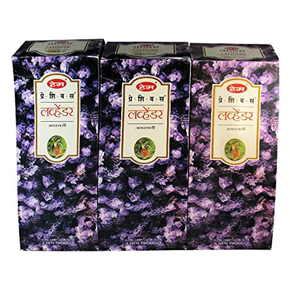 極地月曜アラビア語Hem Preciousラベンダーバルク360 Sticksお香、3ボックス – ( 360 Sticksバルクper order )