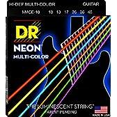 【1セット】DR DR-NMCE10 [10-46] NEON マルチカラー エレキギター弦