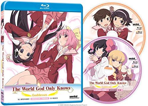 神のみぞ知るセカイ 女神篇:コンプリート・コレクション 北米版 [Blu-ray][Import] Section23 Films