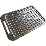 鍛冶屋の頓珍漢 焼き鳥アミーゴ180 ミガキ鉄板Z180専用 焼鳥ステンレス網 ラージメスティンサイズ 鉄板網