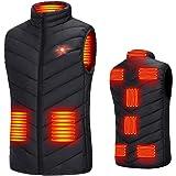 電熱ベスト2020最新のダウンコットン USB式給電 電熱ジャケット ヒーター内蔵 3段階温度調整 電熱ウェア 防寒ベスト バイク保暖服 水洗い可 防風 冷え性に対応 男女兼用