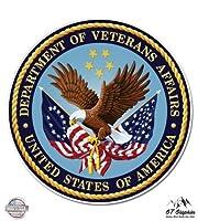 部門のVeteran Affairs Seal–ビニールステッカー防水デカール