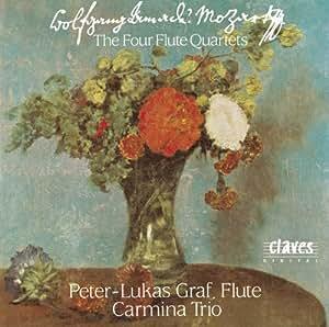 モーツァルト:4つのフルート四重奏曲