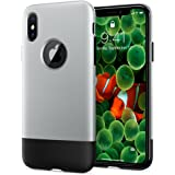 Spigen [Classic One] [10th Anniversary Limited Edition] iPhone X Case with Air Cushion Technology for Apple iPhone X (2017) -