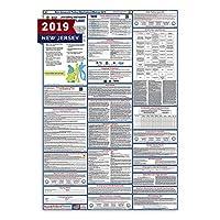 """新しいJersey労働法ポスター(ラミネート加工) All - in - One状態と連邦承認、OSHA準拠垂直27"""" x40"""" [ nj2–27x 40-eng ]"""