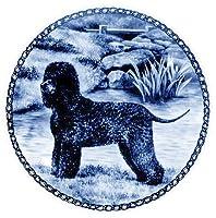 デンマーク製 ドッグ・プレート (犬の絵皿) 直輸入! Irish Water Spaniel / アイリッシュ・ウォーター・スパニエル