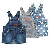 Bobson(ボブソン) ジャンパースカート (80~130cm) キムラタンの子供服 (88111x88211-163) インディゴブルー 130