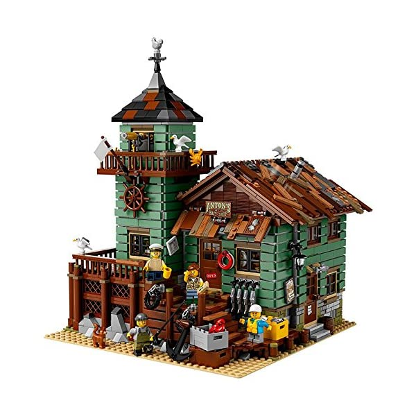 レゴ(LEGO) アイデア つり具屋 21310の紹介画像4