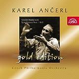 ショスタコーヴィチ:交響曲第1番 ヘ短調 Op.10、交響曲第5番 ニ短調 Op.47 [Import] (ANCERL GOLD EDITION 39|ANCERL GOLD EDITION 39)