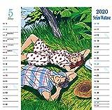 2020年版わたせせいぞう卓上カレンダー 画像