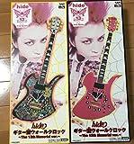 X JAPANHIDE ギター型 ウォールクロック
