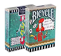 6 Deck set of Bicycle Dolly Mama Playing Cards