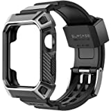 Apple Watch Band 42mm,SUPCASE [Unicorn Beetle Pro] Rugged Protective Shockproof Case Cover with Strap Bands for Apple Watch S