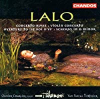 Lalo: Violin Concerto in F, Op. 20 / Concerto russe, Op. 29 / Scherzo in D minor / Le roi d'Ys Overture / Charlier by NIGEL HESS (1999-11-30)