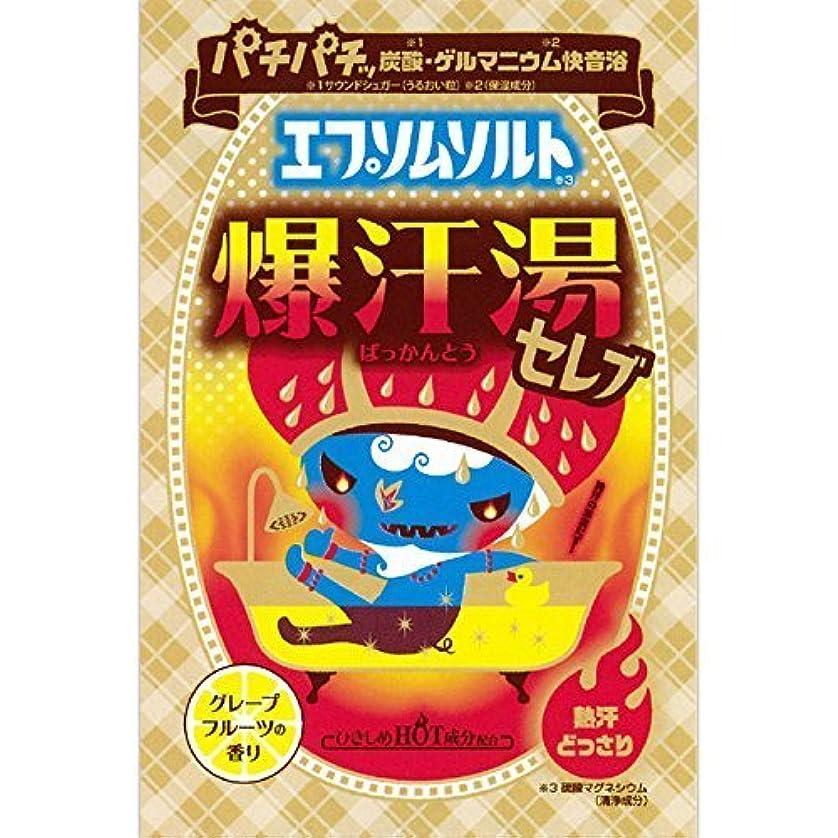 トンチーズタイマーバイソン 爆汗湯 エプソムソルト 60g