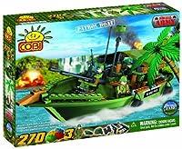 COBI Small Army Patrol Boat, 270 Piece Set by COBI