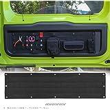 ANTC 車用多機能ツール収納バッグ ジムニーJB64 jb74用 JIMNYテールゲート収納ツール ブラック キャンバス素材 高耐久 取り付け簡単