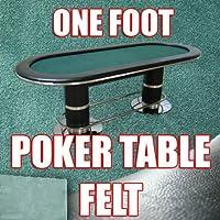 1足のセクションオリーブグリーンPoker Table Clothフェルト。トップ品質to build yourポーカーテーブル。長を選択します。