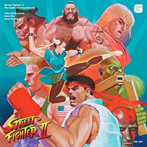 STREET FIGHTER II: THE DEFINITIVE SOUNDTRACK [4LP] (DELUXE BOX INCLUDES BIG FULL-COLOR BOOKLET, ESSAYS, COMPOSER INTERVIEW & SLEEVES WITH ARCHIVAL PRINTS) [Analog]
