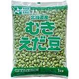 冷凍野菜 むきえだ豆 モリタン 1kg 北海道産 枝豆__