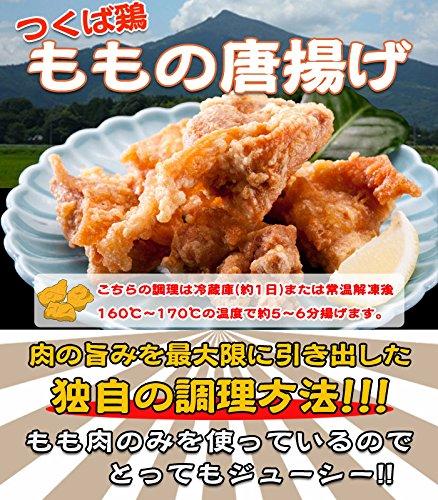 唐揚げ 国産つくば鶏のもも肉使用の唐揚げ10パックセット 柔らかくジューシーなから揚げ【唐揚げ/から揚げ】【茨城県産】【銘柄鶏肉】