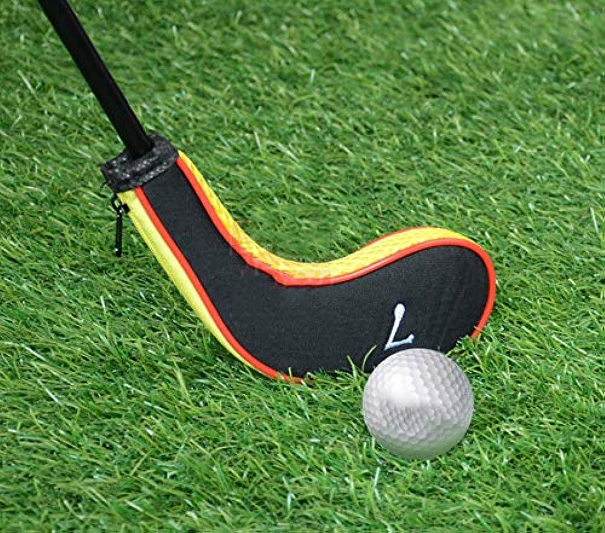 ふざけたイノセンス準備10ピースネオプレンゴルフクラブセットアイアンゴルフクラブヘッドカバー,Orange