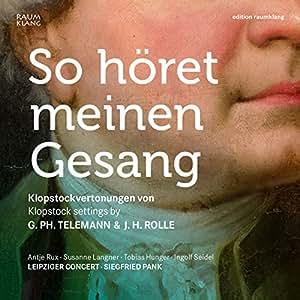 Various: So Horet Meinen Gesan