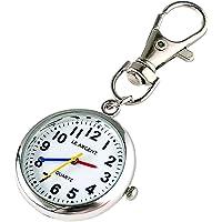 LE ARGENT (ル アルジャン) 懐中時計 ナースウォッチ 時計 キーホルダー かいちゅう時計 【日本製クオーツ…