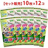 【セット販売】1週間消臭・抗菌デオトイレ 取りかえ専用 消臭・抗菌シート 10枚×12袋