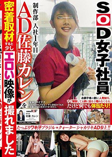 SOD女子社員 制作部 入社1年目 AD 佐藤カレンを密着取材すると少しエロい映像が撮れました [DVD]