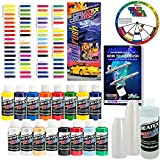 Createx KIT-SUPER16 Airbrush Super Starter Kit With Pack of 100 - 1 Ounce Paint Mixing Cups, Airbrush Book, Createx Color Chart of all 80 Colors and Pocket Mixing Color Pocket Wheel [並行輸入品]