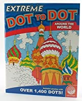 Around The World Extreme Dot To Dot Activity Book by MINDWARE [並行輸入品]