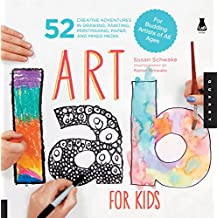 Art Lab for Kids: 52 Creative Adventures in Drawing, Painting, Printmaking, Paper, and Mixed Media-For Budding Artists of All Ages: 1