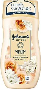 ジョンソンボディケア アロマミルク エクストラケア ボディローション ローズとジャスミンの香り 200mL