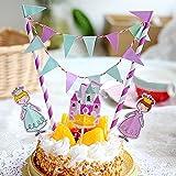 ケーキに かわいい 飾りつけ グッズ( 誕生日 お祝い ホワイトデー バレンタイン クリスマス) 子供から大人まで (とってもお姫さま編)