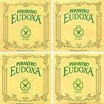 Pirastro Eudoxa 4/4 Cello String Set - Medium Gauge 【TEA】 [並行輸入品]