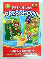 [スクール ゾーン]School Zone PeekaBoo Preschool Interactive Flash Cards 04403 [並行輸入品]