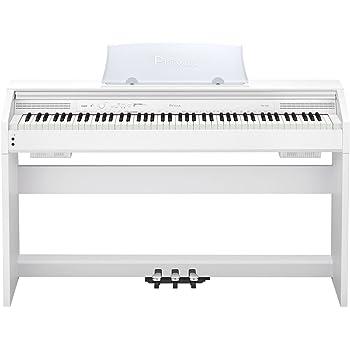 カシオ 電子ピアノ プリヴィア スタイリッシュタイプ PX760WE ホワイト