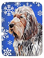 Caroline 's Treasures Otterhound Winter Snowflakesマウスパッド/ホットパッド/五徳( sc9780mp )
