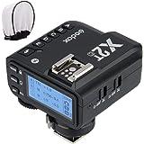 【Godox正規代理&技適マーク】Godox X2T-C TTL ワイヤレスフラッシュトリガー 1/8000 HSS ブルートゥース接続可能 新ホットシューロック 新AFアシストライト Caonoカメラ対応