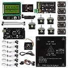 サインスマート RAMPS 1.4 3Dプリンターをはじめよう 互換キット (A4988 + Mega2560 R3 + MK2B + LCD12864 + NEMA17ステップモーター for Ar