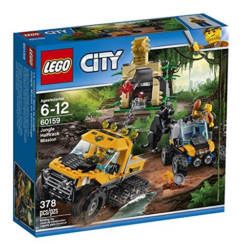 LEGO Cityジャングル探検家ジャングルHalftrackミッション60159建物キット( 378Piece )