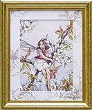 ユーパワー アートフレーム/植物・花 ワイルドチェリーブロッサムフェアリー W29xH35cm