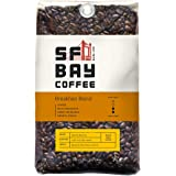 SF Bay Coffee Breakfast Blend Whole Bean 2LB (32 Ounce) Medium Roast