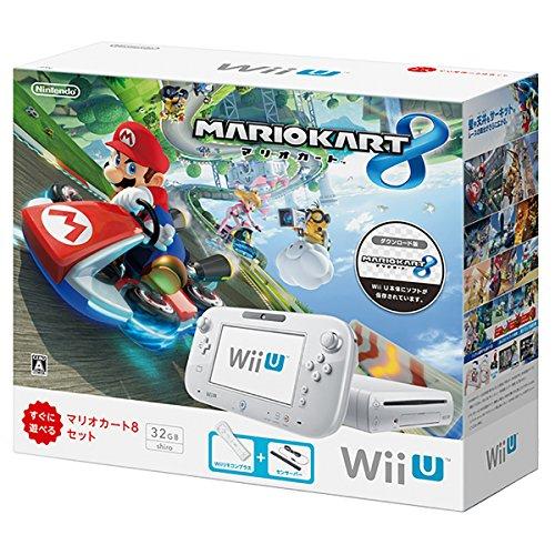 Wii U マリオカート8 セット シロ【メーカー生産終了】...