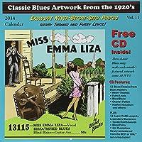 Classic Blues Artwork 1920s Calendar 2014 by Various Artists (2013-10-25)