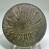 メキシコ 8レアル銀貨 貿易銀 1882年 レプリカ