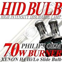 IMPRESSION HID H4 スライド式 70W バーナー 12000K H27.5〜MK42S SPACIA スペーシア ヘッド