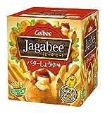 カルビー Jagabee ジャガビー バターしょうゆ味 90g