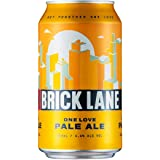 Brick Lane Brewing One Love Pale Ale Beer 355ml case of 24